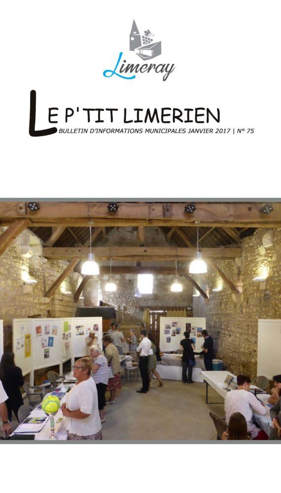 Bulletin municipal de Limeray - Janvier 2017