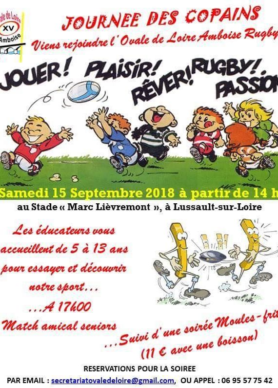 rugby lussault